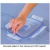 Kép 5/6 - Pure Box Active légmentesen záródó üveg ételtároló dobozok