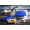 Kép 3/3 - Pyrex Cook & Go hőálló sütőtál és ételtároló légmentes fedővel 21x21 cm, 1,9 liter - 203210
