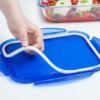 Kép 2/5 - Pyrex Cook & Go hőálló sütőtál és ételtároló légmentes fedővel 24x18 cm, 1,7 liter - 275064