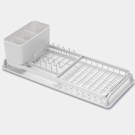 rozsdamentes edényszárító tálcával - 117282 Brabantia Light Grey