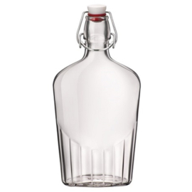 lapos üveg 0,5 literes Bormioli Rocco, Budapesen átvehető