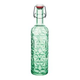 Bormioli Rocco Oriente zöld csatos üveg 1l - 119936