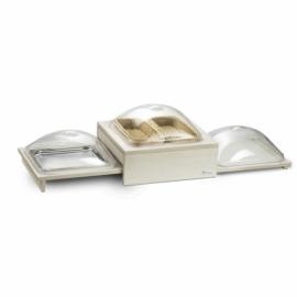 Pintinox Compact Multi fa keret + tálca + búra + hidegen tartó - 144027