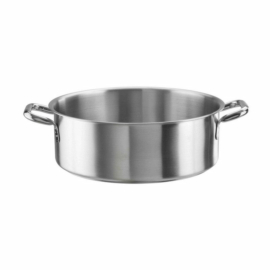 Pintinox Tender rozsdamentes acél alacsony lábas 24cm 3,50 liter - 144317