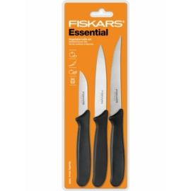 Fiskars Essential 3 darabos kés készlet - 1023785