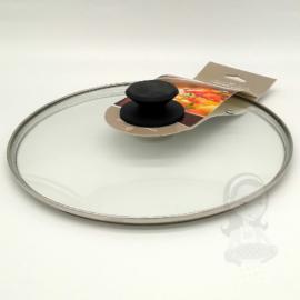 üvegfedő 28 cm edényekhez Prime Chef fém szélű - 8249505