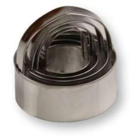 4 részes pogácsa szaggató készlet / 3,4,5,6 cm