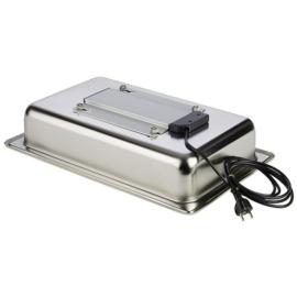 APS rozsdamentes elektromos melegítőlap 600W-230Vchafing-hez