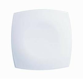 Luminarc Quadrato fehér tányér desszert 18,5cm - 502113