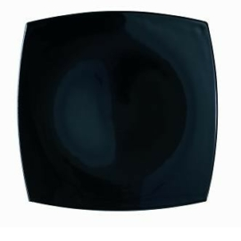 Luminarc Quadrato fekete tányér desszert 18 cm - 502115