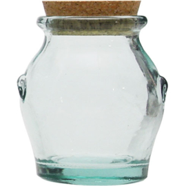 Vidrios San Miguel Eco zöld hasas fűszertartó 250ml - 297034