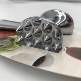Acél húsklopfoló 22 cm - 404146