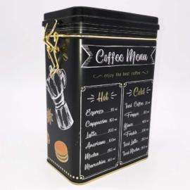 Aromazáras csatos szöletes kávétartó mintás - AR18