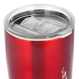 Bialetti hőtartó, rozsdamentes acél utazóbögre, piros 550 ml - DCXIN00005
