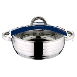 3,75 liter rozsdamentes indukciós szeletsütő fedővel 24 cm, BL-1003 Blaumann Gourmet line