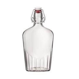 lapos üveg 0,25 literes Bormioli Rocco, Budapesen átvehető