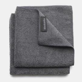 Brabantia mikroszálas törlőkendő 2db dark gray - 118029