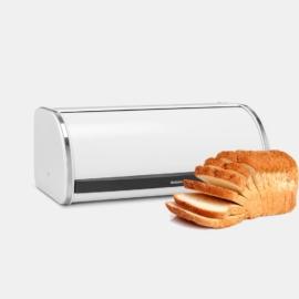 kenyértartó 2 kg-os Brabantia Roll Top fehér,