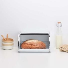 kenyértartó 1 kg-os fehér - 306044, Brabantia Roll Top Bread Bin®