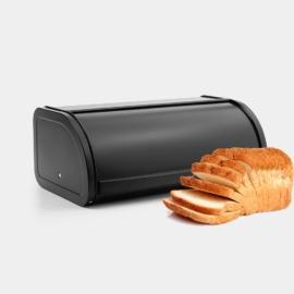 Brabantia Roll Top kenyértartó 2 kg-os matt fekete - 333460,