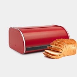kenyértartó 2 kg-os - 484001 Brabantia Roll Top piros,