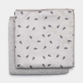 mikroszálas törlőkendő 2db light gray - 117688 Brabantia