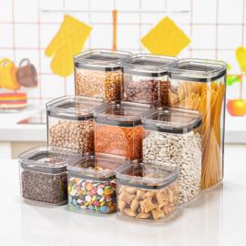 Chef ételtároló dobozok légmentesen záródó tetővel 0,7 - 1,4 - 2 liter
