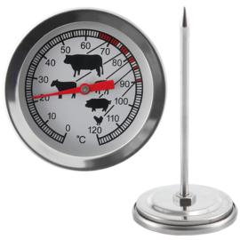 Brühl grill/BBQ maghőmérő thermométer 4 darabos