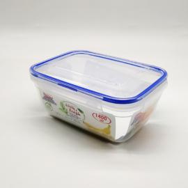 Dünya műanyag ételtároló doboz légmentesen zárható tetővel szilikon tömítéssel - DÜ42