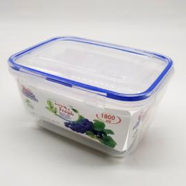 műanyag ételtároló doboz szilikon tömítéssel 1800ml - DÜ70 Dünya BPA mentes