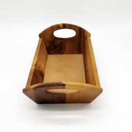 Fa kenyértartó kosár 32 x 18 x 10 cm - 210004