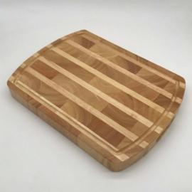 Fa tőkevágó blokk 40 x 30 x 4 cm - 210010