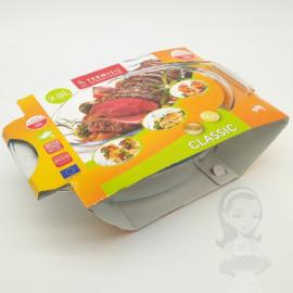 jénai sütőtál fedővel 2,9 liter ovális Termisil Classic
