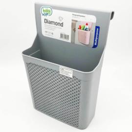 Hobby Life Diamond ajtóra akasztható tároló 4 liter, szürke - 31069