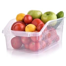 Hobby Life műanyag hűtőbe való élelmiszer tároló átlátszó - 31064