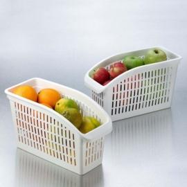 Hobby Life műanyag hűtőbe való élelmiszer tároló fehér - 31065