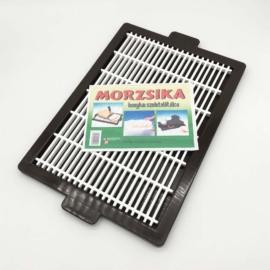 konyhai szeletelő ráccsal tálcával 40x29 cm - 10536 Morzsika műanyag