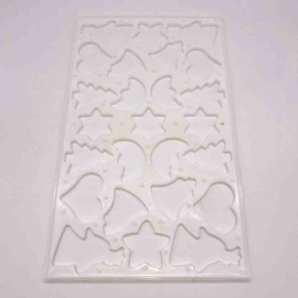 műanyag sütikiszúró karácsonyi mintával - 11801 Perfect Home