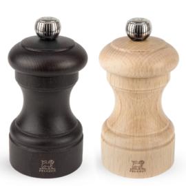 Peugeot Bistro Duo bors és sóőrlő szett csokoládébarna / natúr 10 cm - 2/22594