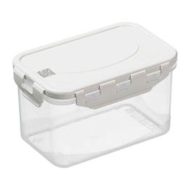 Plast team Air Tight BPA mentes műanyag ételtároló doboz szilikon tömítéssel QR koddal 0,7 liter - 2803