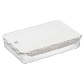 műanyag ételtároló doboz szilikon tömítéssel QR koddal 5 liter - 2802
