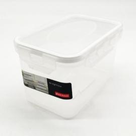 műanyag ételtároló doboz szilikon tömítéssel 0,7 liter - 2803 Plast team BPA mentes