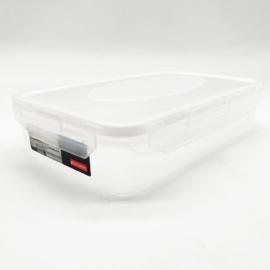 Plast team BPA mentes műanyag ételtároló doboz szilikon tömítéssel 0,9 liter - 2801