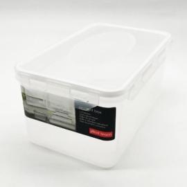 műanyag ételtároló doboz szilikon tömítéssel 2 liter - 2804 Plast team Air Tight BPA mentes