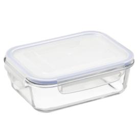 Plast team Lyngby hő˜álló üveg ételtároló műanyag cseppmentes tető˜vel - SA544