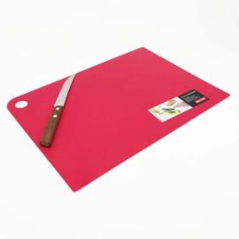 műanyag vágólap 34 x 24 cm piros - SA337P Plast team