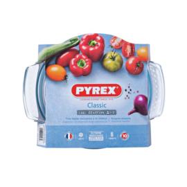 hőálló sütőtál kerek 1,4 liter (1 + 0,4) - Pyrex Classic 203013