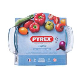hőálló sütőtál kerek 2,1 liter (1,5 + 0,6) 20 cm - Pyrex Classic 203014