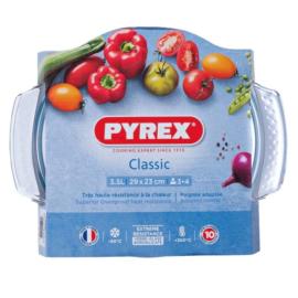 hőálló sütőtál kerek 3,5 liter (2,5 + 1) 23 cm - Pyrex Classic 203009