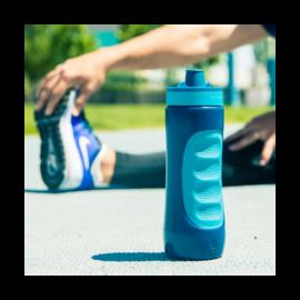 Quokka Sweat Azurite műanyag sportkulacs 0,68 liter - 265011